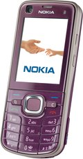 NOKIA 6220 CLASSIC FRONT ANGLE VIOLET