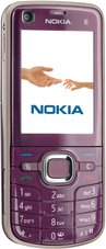 NOKIA 6220 CLASSIC FRONT VIOLET