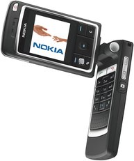 NOKIA 6260 OPEN ROTATED