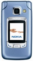 NOKIA 6290 FRONT BLUE