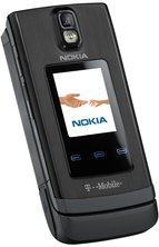 NOKIA 6650 FRONT ANGEL BLACK