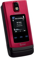 NOKIA 6650 FRONT RED BLACK