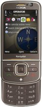 NOKIA 6710 NAVIGATOR BROWN FRONT OPEN
