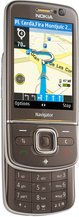 NOKIA 6710 NAVIGATOR BROWN FRONT OPEN ANGLE