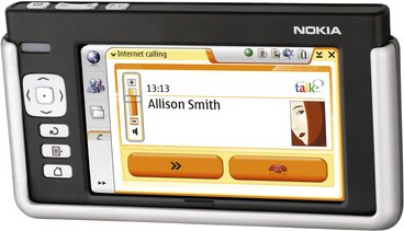 NOKIA 770 INTERNET TABLET FRONT