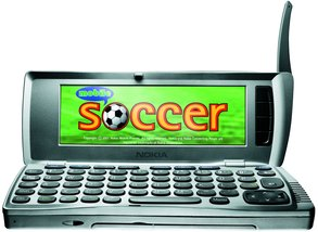 NOKIA 9210 FRONT OPEN SOCCER