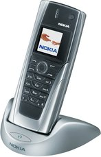 nokia 9500 in docking station