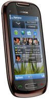 NOKIA C7-00 MAHOGANY BROWN 1