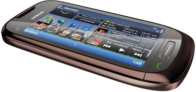 NOKIA C7-00 MAHOGANY BROWN 4