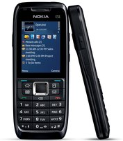NOKIA E51 FRONT SIDE BLACK