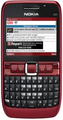 NOKIA E63 FRONT RED