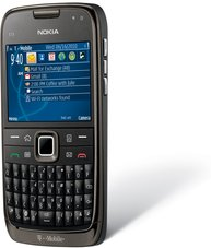 NOKIA E73 MODE T-MOBILE USA FRONT ANGLE