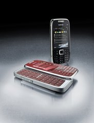 NOKIA E75 BLACK RED COPPER