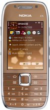 NOKIA E75 FRONT COPPER