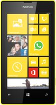 NOKIA LUMIA 520 YELLOW FRONT