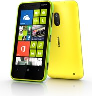 NOKIA LUMIA 620 LIME GREEN AND YELLOW