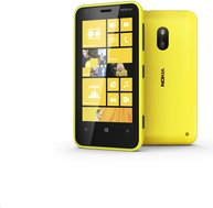 nokia lumia 620 yellow front and back
