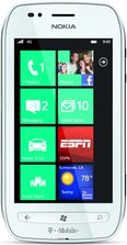 NOKIA LUMIA 710 T-MOBILE WHITE FRONT