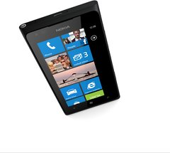 nokia lumia 900 black home