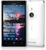 NOKIA LUMIA 925 FRONT BACK WHITE