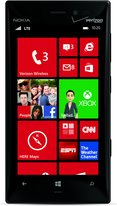 NOKIA LUMIA 928 BLACK FRONT WHITE