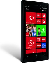 NOKIA LUMIA 928 BLACK PORTRAIT RIGHT WHITE