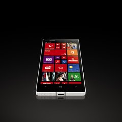 NOKIA LUMIA ICON WHITE ANGLE 1