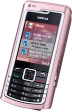 NOKIA N72 FRONT ANGLE PINK