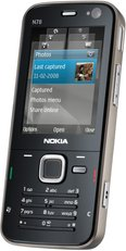 NOKIA N78 FRONT ANGLED