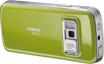NOKIA N79 BACK GREEN