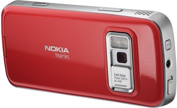 NOKIA N79 BACK RED