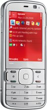NOKIA N79 FRONT RED