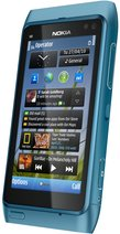 nokia n8-00 blue right angle