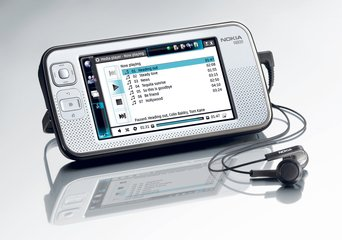 NOKIA N800 WITH HEADSET