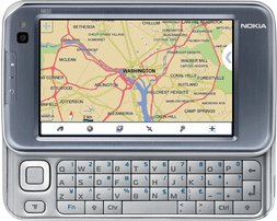 NOKIA N810 FRONT OPEN WEB