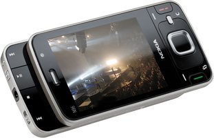 NOKIA N96 TOP ANGLE MEDIA KEYS