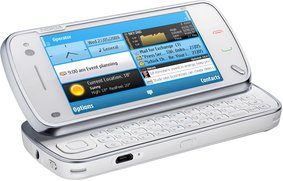NOKIA N97 WHITE OPEN MY BUSINESS