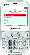 palm treo 500v white front