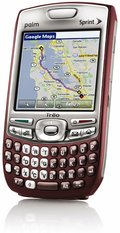 palm treo 755p front right