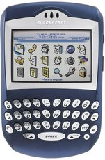 RIM BLACKBERRY 7290 BLUE FRONT