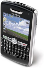 RIM BLACKBERRY 8800 TOP ANGLE