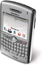RIM BLACKBERRY 8830 VERIZON TOP ANGLE