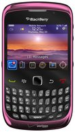 RIM BLACKBERRY CURVE 3G 9300 FRONT FUCHSIARED