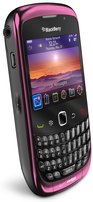 RIM BLACKBERRY CURVE 3G 9300 LEFT ANGLE FUCHSIARED