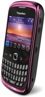 RIM BLACKBERRY CURVE 3G 9300 RIGHT ANGLE FUCHSIARED