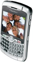 RIM BLACKBERRY CURVE 8300 SILVER TOP ANGLE