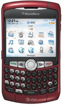 RIM BLACKBERRY CURVE 8310 RED ATT FRONT