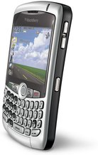 RIM BLACKBERRY CURVE 8310 SILVER RIGHT ANGLE