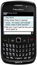 RIM BLACKBERRY CURVE 8530 FRONT