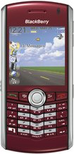 RIM BLACKBERRY PEARL 8100 RED FRONT